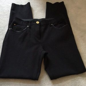 Chico's black so slimming series of fall pants!